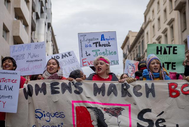 [EN IMAGES] 500 000 Américains marchent contre Trump