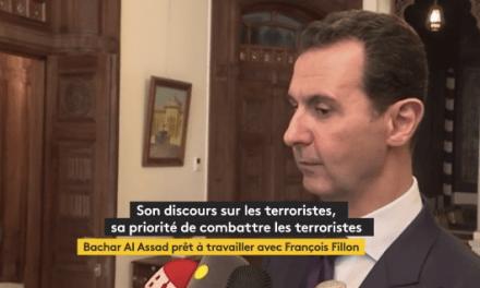 Bachar Al-Assad pourrait soutenir François Fillon