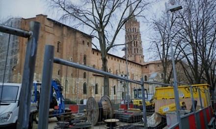 Basilique St-Sernin : chantier en deux temps