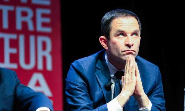 Le PS lance sa campagne, Benoît Hamon est dans la place