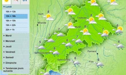 La Haute-Garonne troque le froid pour la pluie