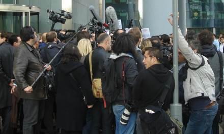 Deux journalistes de l'émission «Quotidien» expulsés d'une visite de Marine le Pen