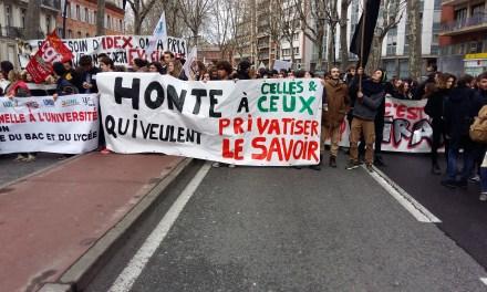 Les étudiants de l'université Jean Jaurès mobilisés une nouvelle fois