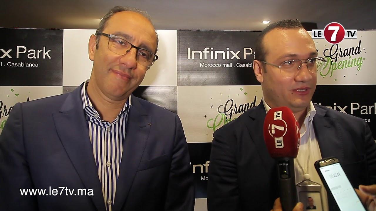 """رئيس الرجاء والمدير العام لشركة""""إنفينيكس infinix"""" يتحدثان عن تجديد عقد الشراكة الذي يجمع الطرفين"""