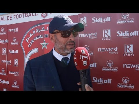 """عبد الواحد رحال"""" شرف لنا تكريم سعيد غاندي الذي أعطى الشئ الكثير لكرة القدم المغربية """""""