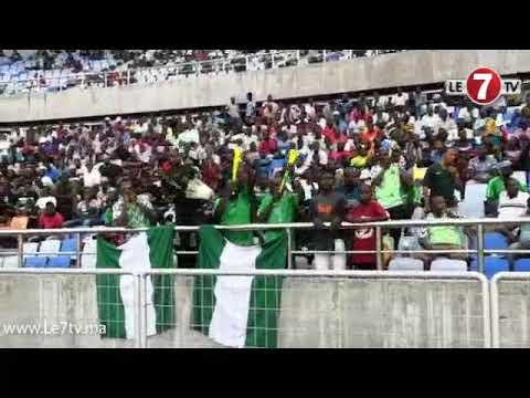 """""""كان U17""""... تشجيعات من عالم آخر للجماهير النيجيرية... رقصات وأهازيج إفريقية رائعة"""