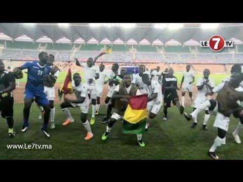 """""""كان U17""""... إحتفالات رائعة ورقصات إفريقية مدهشة للاعبي المنتخب الغيني بعد التأهل لنهائي كأس إفريقيا"""