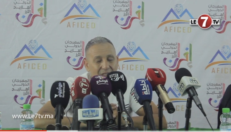 أحوزار يتحدت عن الفن الأمازيغي و عن تواجده في مهرجان إفران