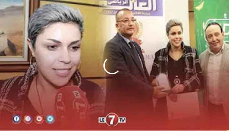 """""""لمياء بومهدي"""" مدرب المنتخب المغربي للكرة النسوية تتحدث عن تكريمها اليوم كمدرب السنة"""