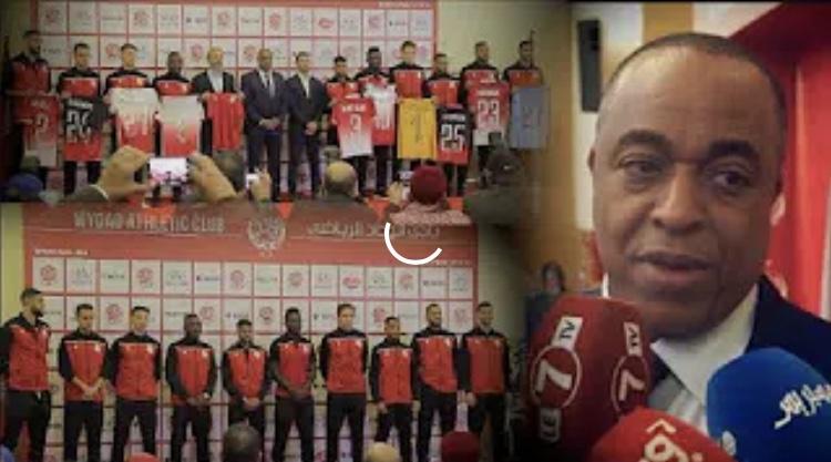 سعيد الناصيري رئيس الوداد الرياضي: التعاقد مع دوصابر/ إنتداب 11 لاعب/ دوري أبطال إفريقيا والبطولة
