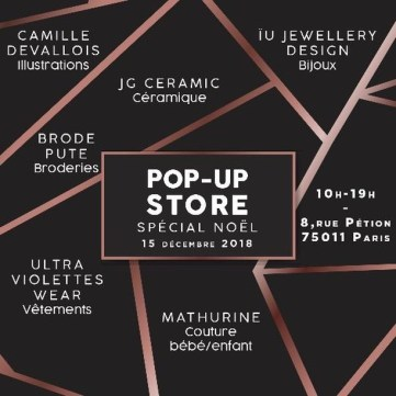 a space dedicated to ephemeral popup store Paris 75011