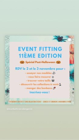 event fitting Sorbet Coco au 8 Petion