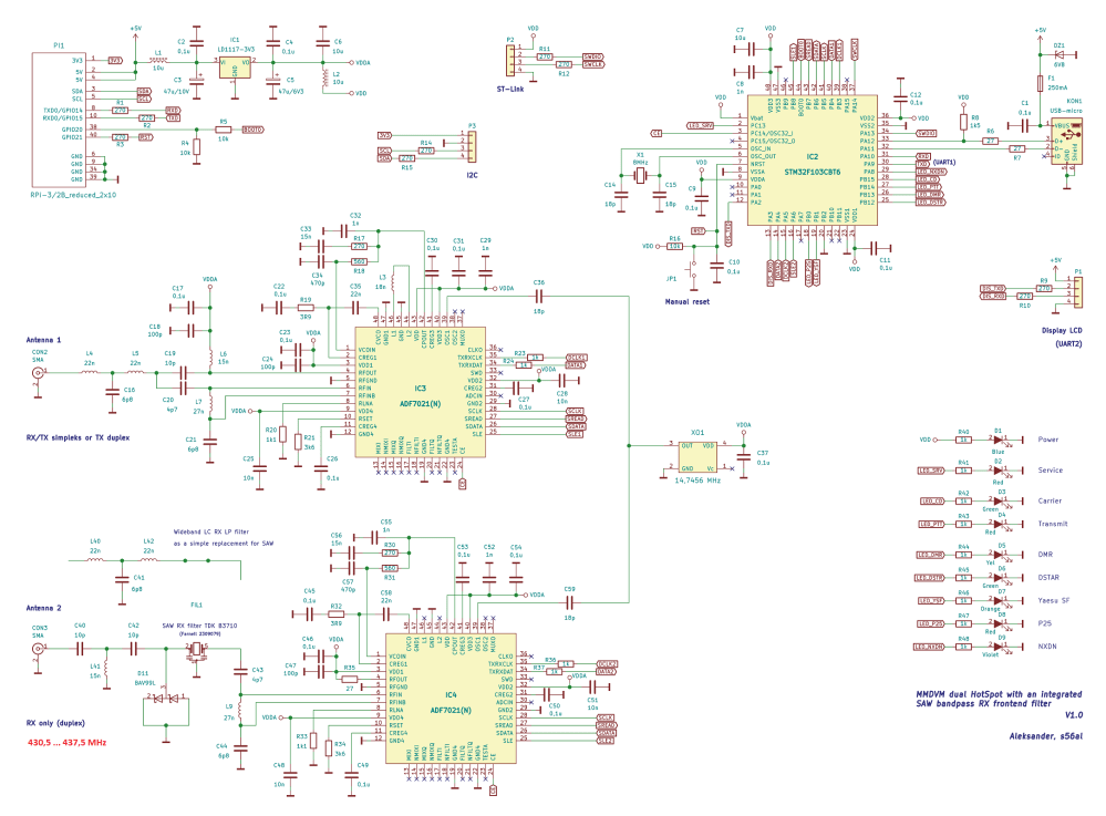 medium resolution of  the rpi and hotspot board including the mmdvm software written by g4klx use the mmdvm hs dual hat settings in the board selection section of the