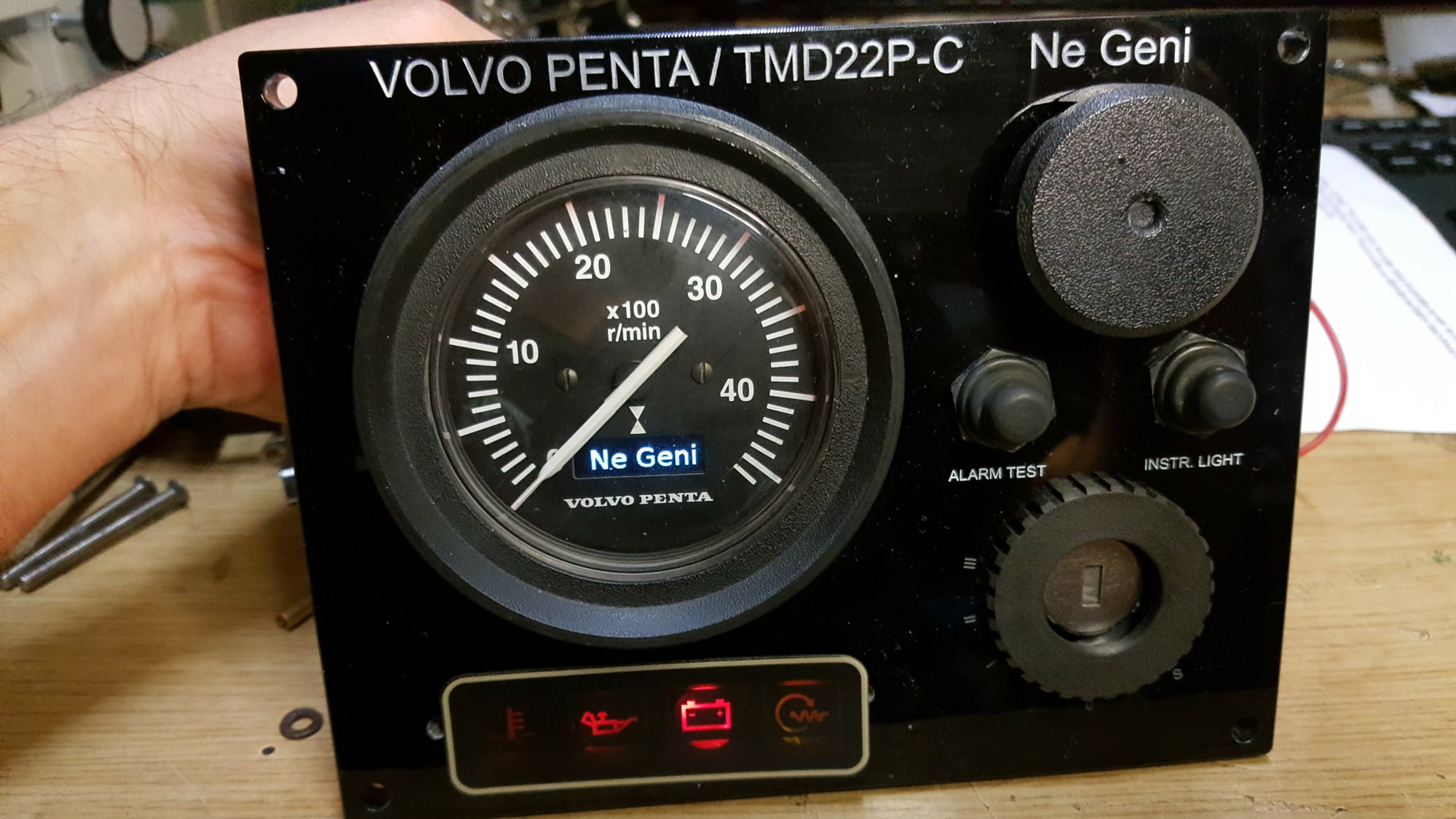 hight resolution of read more at http www ybw com forums showthread php 312217 tachometer vdo problems on volvo penta xdmg6rbtqahj2ljl 99