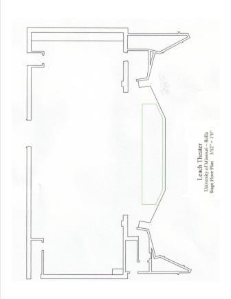 Facility Layout - Leach Theatre - Missouri S&T