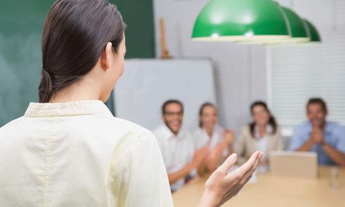 Developing Your Presentation workshop