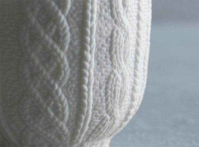 Trace Face Knit Wear