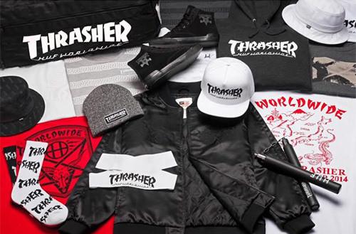 HUF-THRASHER