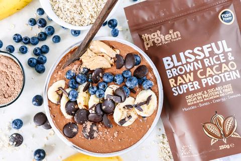 that protein blissful brown rice and raw cacao