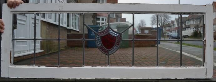 R140. £35. SOLDglass: 26.5 x 97.3cm, frame: 37.8 x 107cm
