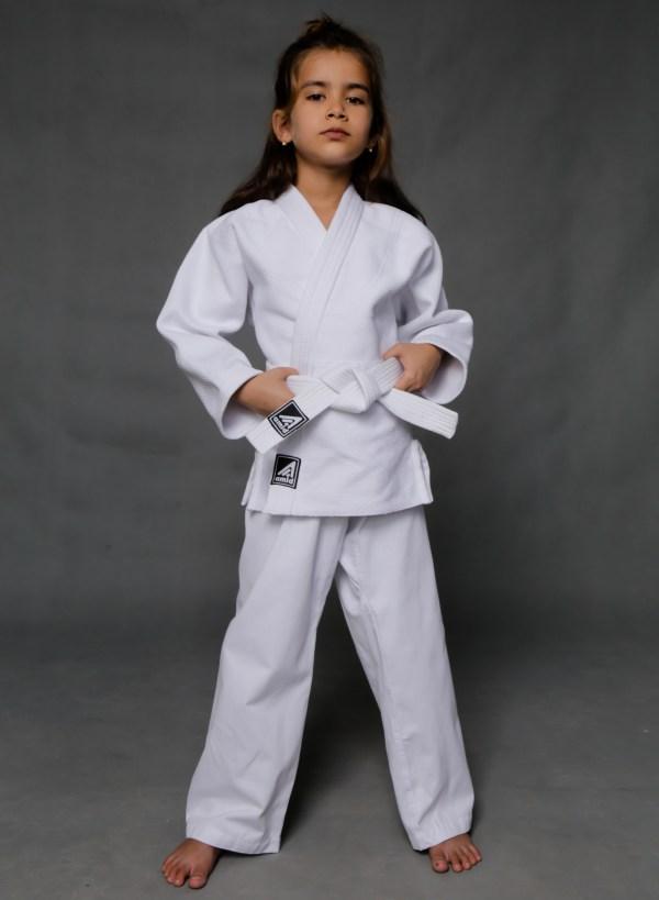 кимоно для дзюдо белое KIDS