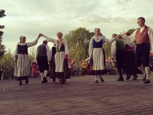 Åländska folkdansare