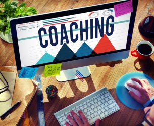 Coaching Mentoring Training Skills Expertise Concept