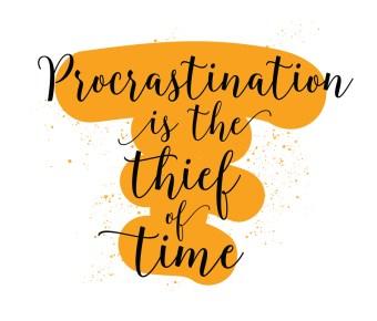 Image result for procrastination clip art