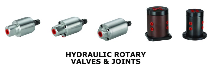 hydraulic rotary valves and joints