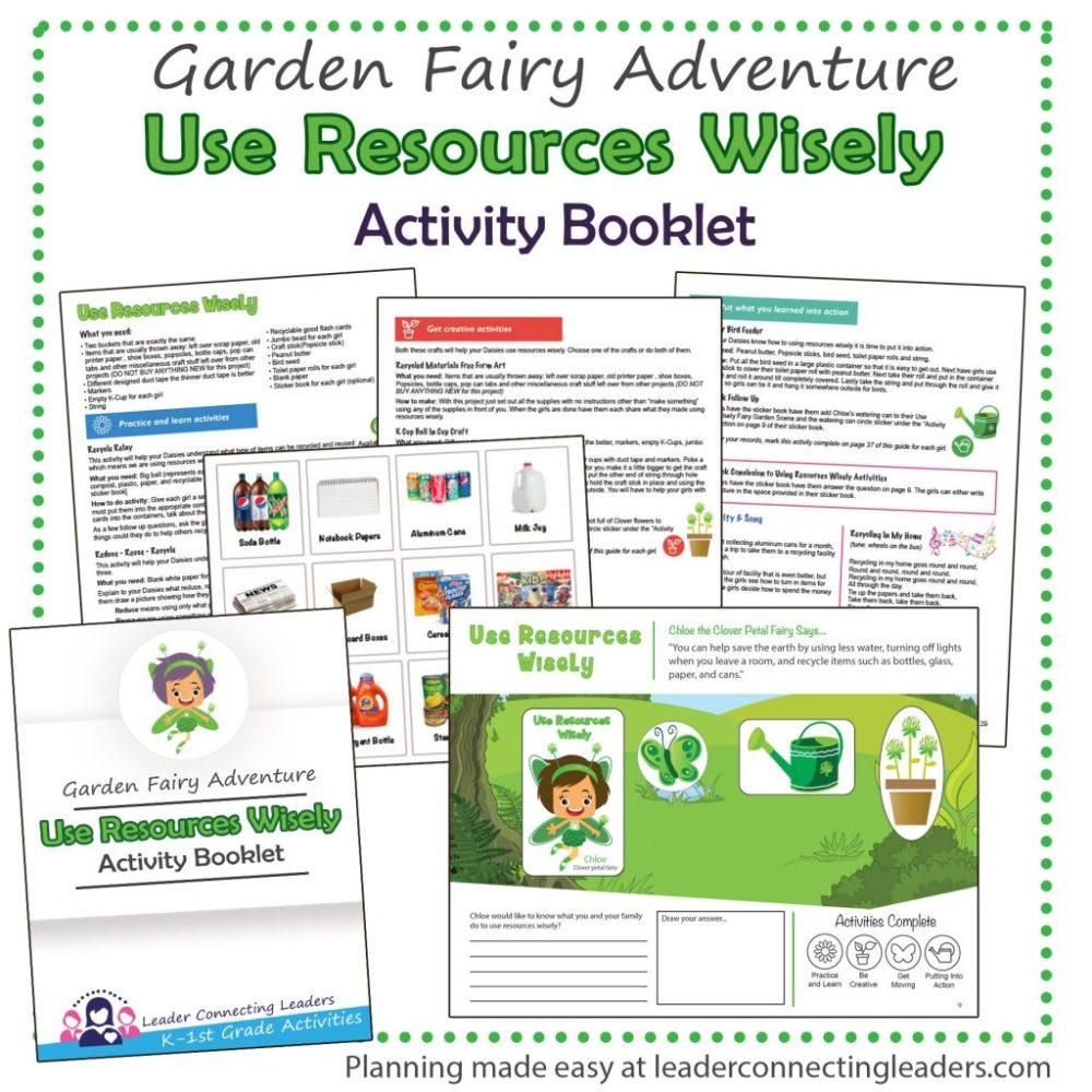 medium resolution of 5 Fun Activities To Help Your Girls Earn The Use Resources Wisely Petal