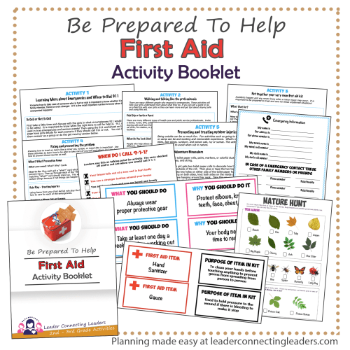 small resolution of First Aid Activity Booklet   2nd - 3rd Grade   Leader Connecting Leaders
