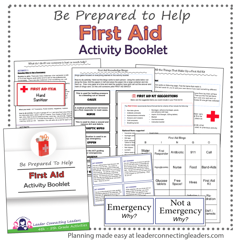 5 Fun Activities To Earn The Junior First Aid Badge