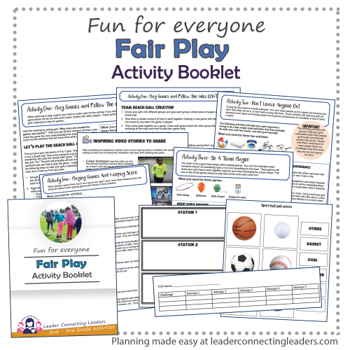 small resolution of Fair Play Activity Booklet   Leader Connecting Leaders