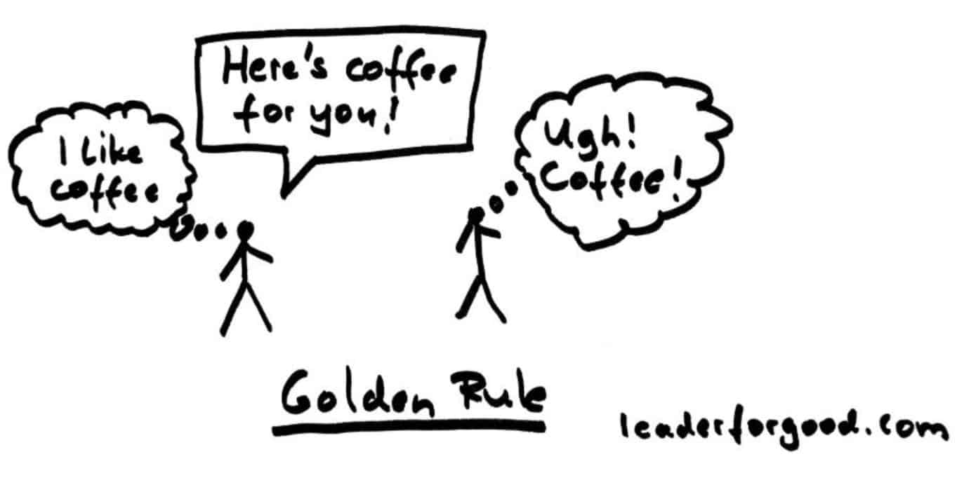 An example of the Golden Rule in action