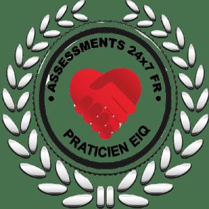 Badge de praticien EIQ certifié