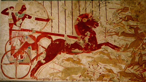 egyptian chariot photo