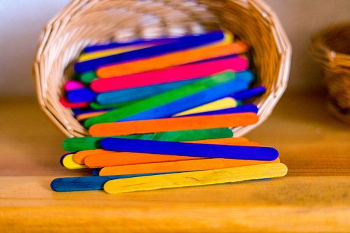 popsicle sticks photo