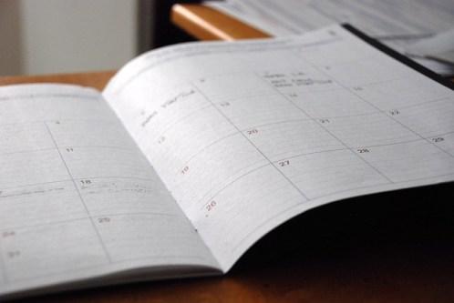 improve prayer life with a prayer calendar