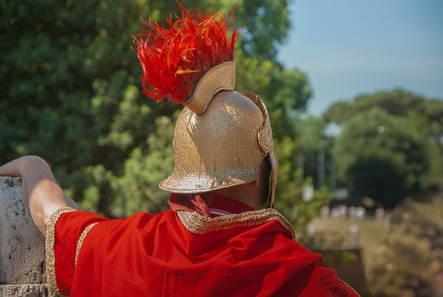 Roman soldier - humility in leadership