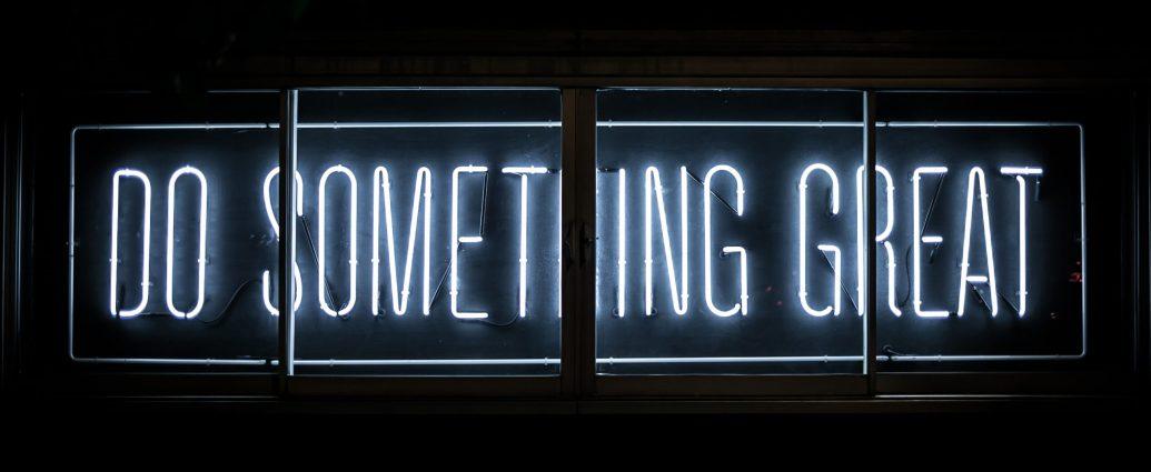 Do something purposeful