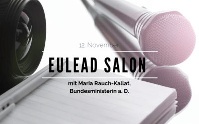 12. November: Excellence in Leadership – Macht und Management in der Politik aus weiblicher Sicht