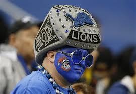 Detroit lions fan