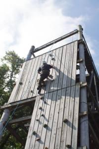 Grown Ups Camp Wall Climb 2016