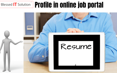 How should your profile look in any online job portal?