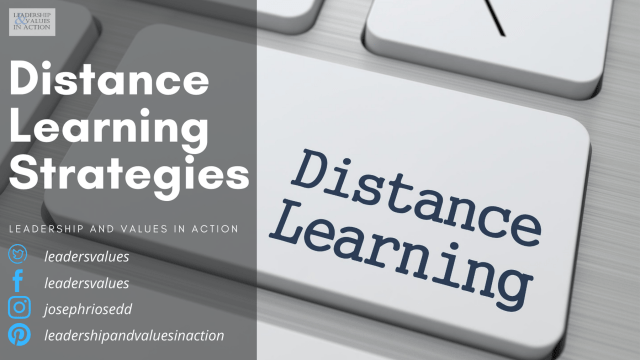 Distance Learning Strategies