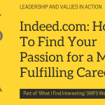 Indeed.com: How To Find Your Passion for a More Fulfilling Career