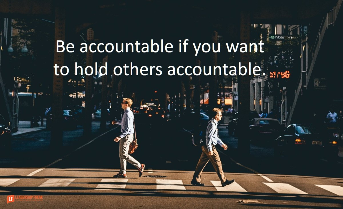 Accountability as an EnergyGiving Experience  Leadership Freak