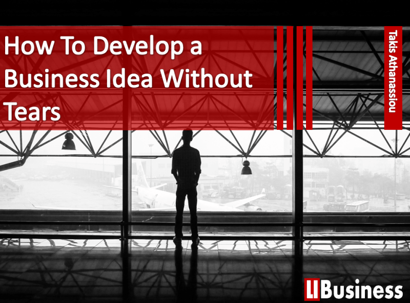 How To Develop and Verify a Business Idea