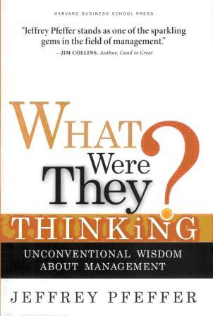 What were They Thinking Cover