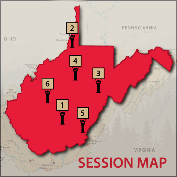 SESSION MAP